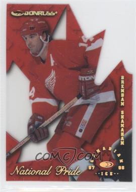1997-98 Donruss Canadian Ice - National Pride Die-Cut #5 - Brendan Shanahan /1997
