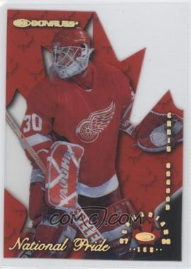 1997-98 Donruss Canadian Ice - National Pride Die-Cut #6 - Chris Osgood /1997