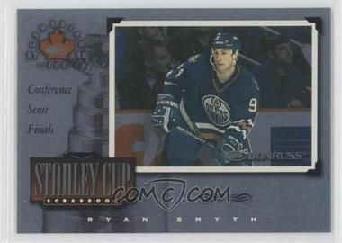 1997-98 Donruss Canadian Ice - Stanley Cup Scrapbook #17 - Ryan Smyth /1500