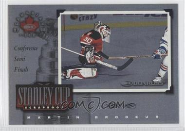 1997-98 Donruss Canadian Ice - Stanley Cup Scrapbook #24 - Martin Brodeur /1500