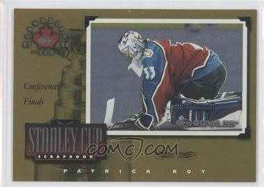 1997-98 Donruss Canadian Ice - Stanley Cup Scrapbook #27 - Patrick Roy /1000