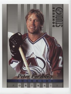 1997-98 Donruss Studio - [Base] - 8 x 10 #15 - Peter Forsberg