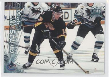 1997-98 Pacific Crown Collection - [Base] - Ice Blue #128 - Markus Naslund