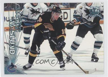 1997-98 Pacific Crown Collection - [Base] - Ice Blue #128 - Markus Naslund
