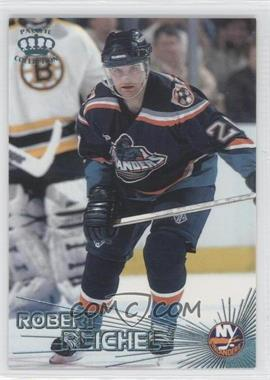 1997-98 Pacific Crown Collection - [Base] - Ice Blue #326 - Robert Reichel