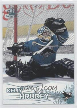 1997-98 Pacific Crown Collection - [Base] - Ice Blue #337 - Kelly Hrudey