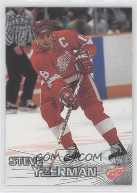 1997-98 Pacific Crown Collection - [Base] - Silver #19 - Steve Yzerman