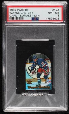 1997-98 Pacific Crown Collection - Card-Supials - Mini #12A - Wayne Gretzky [PSA8NM‑MT]