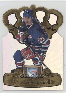 1997-98 Pacific Crown Collection - Gold-Crown Die-Cuts #15 - Wayne Gretzky