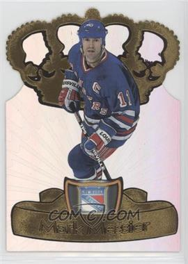 1997-98 Pacific Crown Collection - Gold-Crown Die-Cuts #16 - Mark Messier
