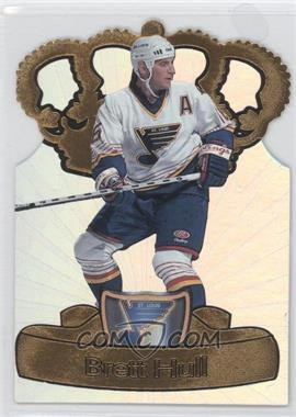 1997-98 Pacific Crown Collection - Gold-Crown Die-Cuts #19 - Brett Hull