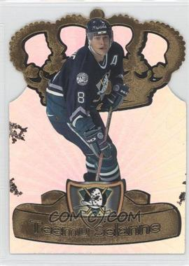 1997-98 Pacific Crown Collection - Gold-Crown Die-Cuts #2 - Teemu Selanne