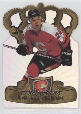 1997-98 Pacific Crown Collection - Gold-Crown Die-Cuts #5 - Jarome Iginla