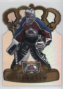 1997-98 Pacific Crown Collection - Gold-Crown Die-Cuts #8 - Patrick Roy