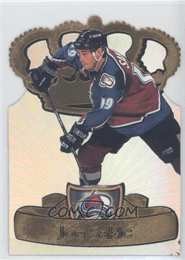 1997-98 Pacific Crown Collection - Gold-Crown Die-Cuts #9 - Joe Sakic