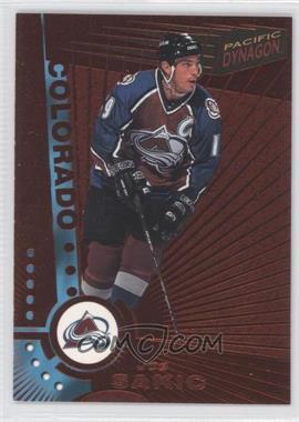 1997-98 Pacific Dynagon - [Base] - Copper #34 - Joe Sakic