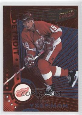 1997-98 Pacific Dynagon - [Base] - Copper #46 - Steve Yzerman