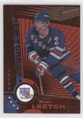 1997-98 Pacific Dynagon - [Base] - Copper #80 - Brian Leetch