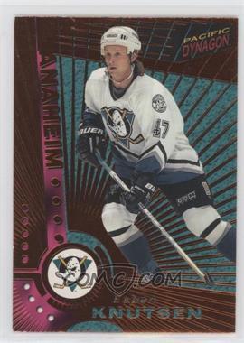 1997-98 Pacific Dynagon - [Base] - Copper #Rookie - Espen Knutsen