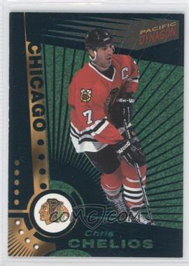 1997-98 Pacific Dynagon - [Base] - Emerald #25 - Chris Chelios