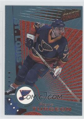 1997-98 Pacific Dynagon - [Base] - Ice Blue #108 - Pierre Turgeon