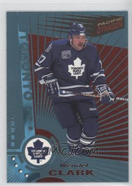 1997-98 Pacific Dynagon - [Base] - Ice Blue #121 - Wendel Clark