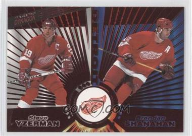 1997-98 Pacific Dynagon - [Base] - Red #139 - Steve Yzerman, Brendan Shanahan