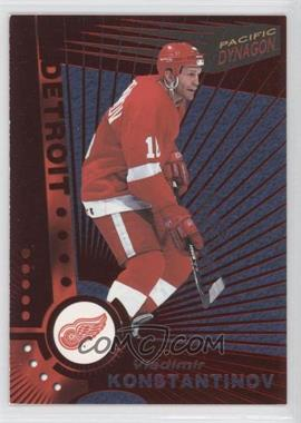 1997-98 Pacific Dynagon - [Base] - Red #42 - Vladimir Konstantinov