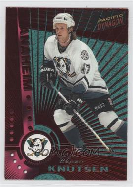 1997-98 Pacific Dynagon - [Base] - Red #Rookie - Espen Knutsen