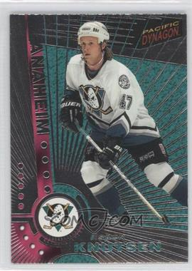 1997-98 Pacific Dynagon - [Base] - Silver #Rookie - Espen Knutsen