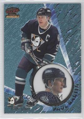 1997-98 Pacific Invincible - [Base] - Ice Blue #3 - Paul Kariya