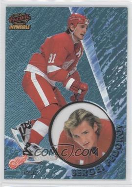 1997-98 Pacific Invincible - [Base] - Ice Blue #46 - Sergei Fedorov