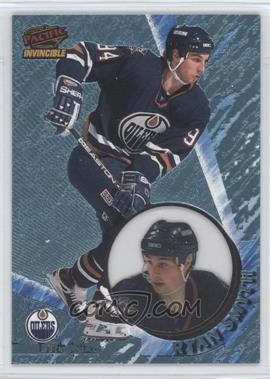1997-98 Pacific Invincible - [Base] - Ice Blue #58 - Ryan Smyth