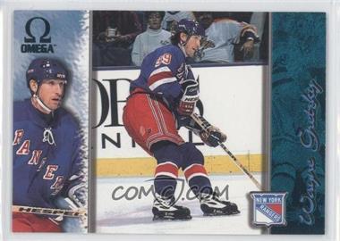 1997-98 Pacific Omega - [Base] - Emerald #145 - Wayne Gretzky