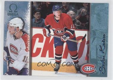 1997-98 Pacific Omega - [Base] - Ice Blue #118 - Saku Koivu