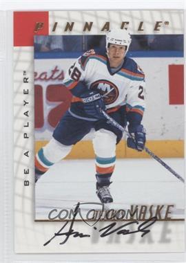 1997-98 Pinnacle Be A Player - [Base] - Autographs [Autographed] #120 - Dennis Vaske