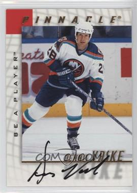 1997-98 Pinnacle Be A Player - [Base] - Autographs [Autographed] #120 - Dennis Vaske