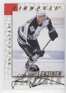 1997-98 Pinnacle Be A Player - [Base] - Autographs [Autographed] #123 - Jere Lehtinen
