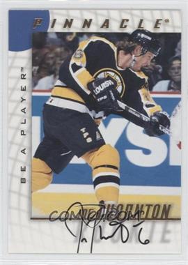 1997-98 Pinnacle Be A Player - [Base] - Autographs [Autographed] #232 - Joe Thornton