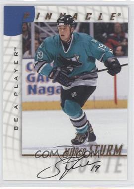 1997-98 Pinnacle Be A Player - [Base] - Autographs [Autographed] #243 - Marco Sturm