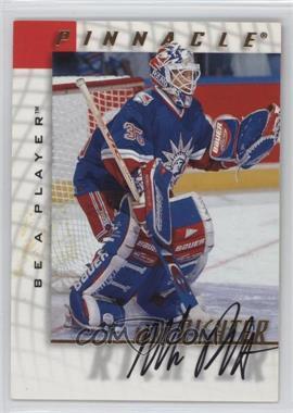 1997-98 Pinnacle Be A Player - [Base] - Autographs [Autographed] #37 - Mike Richter