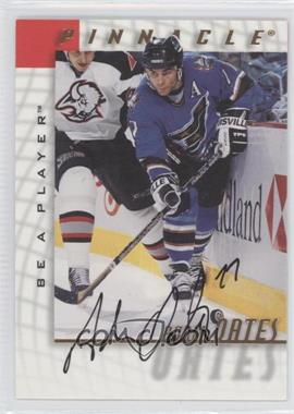 1997-98 Pinnacle Be A Player - [Base] - Autographs [Autographed] #5 - Adam Oates