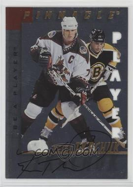 1997-98 Pinnacle Be A Player - [Base] - Die-Cut Autographs [Autographed] #22 - Keith Tkachuk