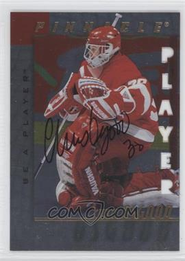 1997-98 Pinnacle Be A Player - [Base] - Die-Cut Autographs [Autographed] #25 - Chris Osgood