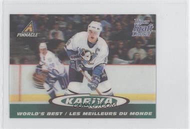 1997-98 Pinnacle Kraft Dinner 3-D World's Best - [Base] #8 - Paul Kariya