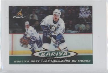 1997-98 Pinnacle Kraft Dinner 3-D World's Best - [Base] #8 - Paul Kariya