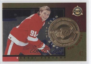 1997-98 Pinnacle Mint Collection - [Base] - Gold Mint Team #14 - Sergei Fedorov