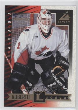 1997-98 Pinnacle Zenith - [Base] #97 - Roberto Luongo