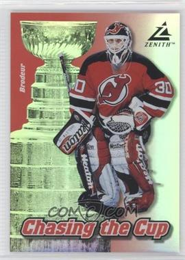1997-98 Pinnacle Zenith - Chasing the Cup #11 - Martin Brodeur