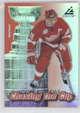 1997-98 Pinnacle Zenith - Chasing the Cup #15 - Steve Yzerman